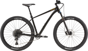 Cannondale Trail 1 2020 Black Goldfinger