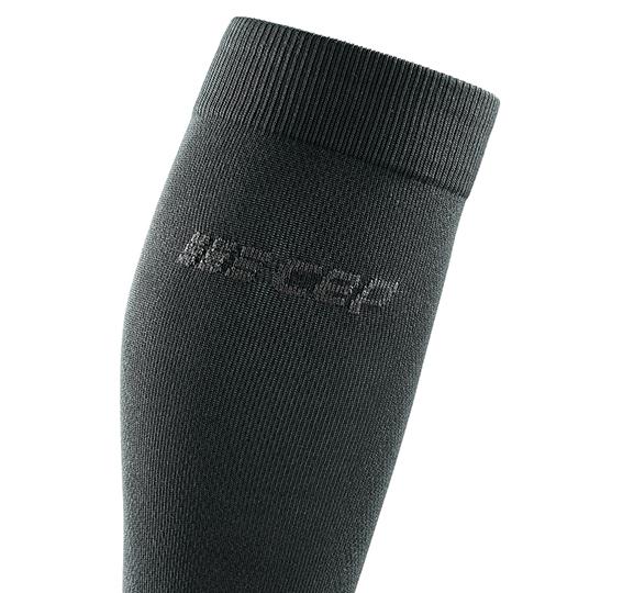 Sosete de compresie inalte CEP Business gri inchis - Wheelsports