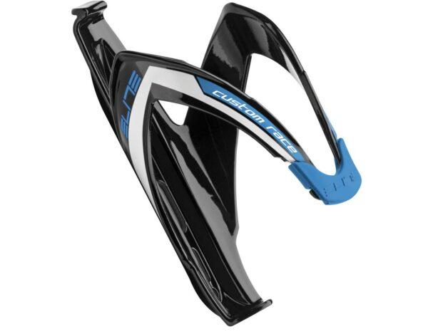 Suport de bidon Elite Custom Race negru/albastru - Wheelsports
