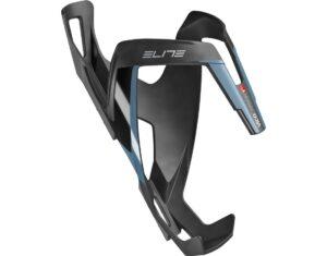 Suport de bidon Elite Vico Carbon negru/albastru/mat - Wheelsports