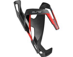 Suport de bidon Elite Vico Carbon negru/rosu/mat - Wheelsports