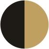 Negru/Gold/Mat