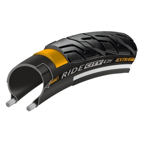 anvelopa-continental-ride-city-reflex-extra-puncturebelt-negru - Wheelsports