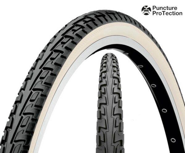 Anvelopa Continental Ride Tour 37-622 (28*1 3/8*1 5/8) negru/alb - Wheelsports