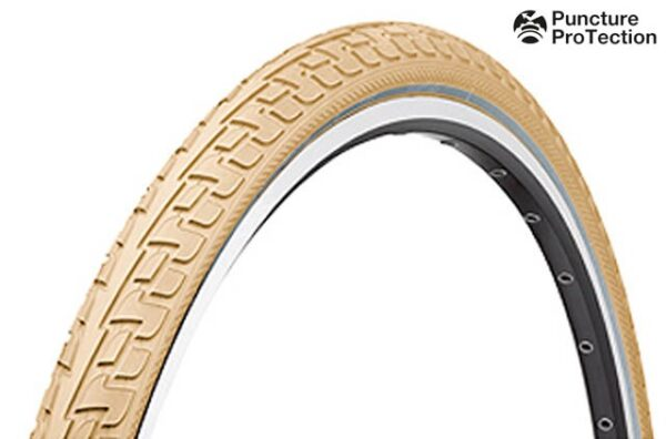 Anvelopa Continental Ride Tour Puncture-ProTection 37-622 28*1 3/8*1 5/8 crem/crem - Wheelsports