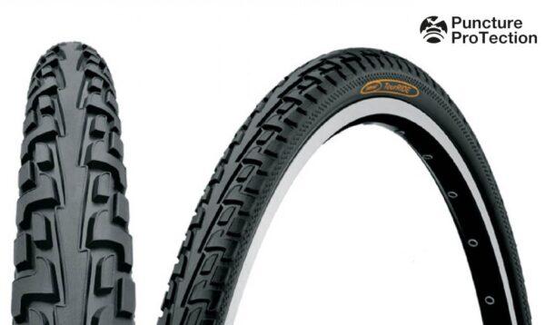 Anvelopa Continental Ride Tour Puncture-ProTection  37-622 28*1 3/8*1 5/8 negru/negru - Wheelsports