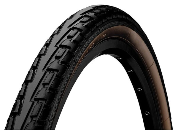 Anvelopa Continental Ride Tour Puncture-ProTection 47-622 (28*1.75) negru/maro - Wheelsports