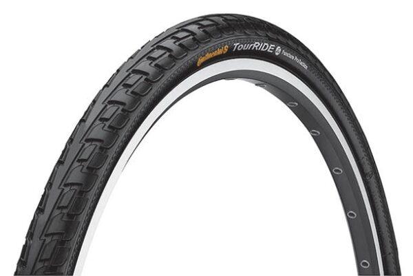 Anvelopa Continental Ride Tour Puncture-ProTection  47-622 28*1.75 negru/negru - Wheelsports