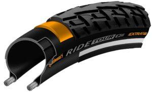 Anvelopa Continental Ride Tour Reflex Puncture-ProTection 28-622 negru/negru - Wheelsports