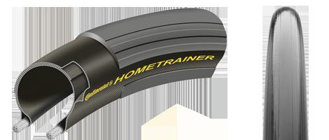 Anvelopa pliabila Continental  Hometrainer II 23-622 700-23C negru/negru - Wheelsports