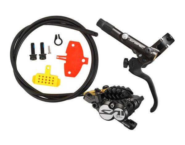 Frana pe disc Shimano Saint BL-M820-B(L), BL-M820(F), set - Wheelsports