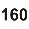 160 mm