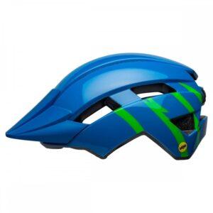 Bell Sidetrack II MIPS Albastru/Verde - Wheelsports